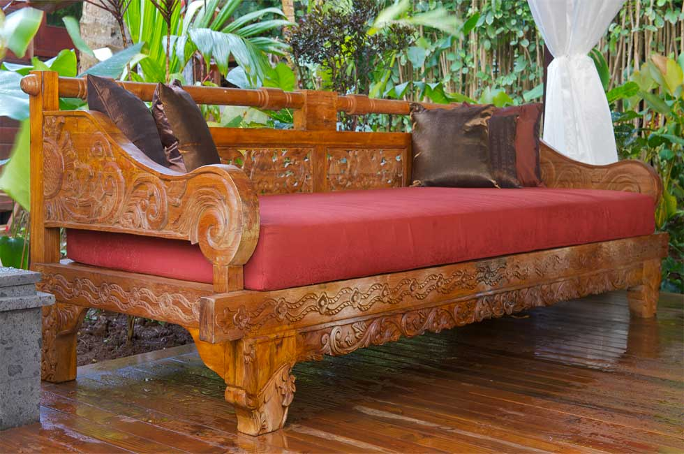 bali style daybed outdoor furniture